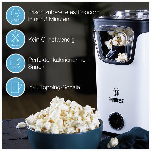 Popcornmaschine PRINCESS 292986, 1100 W - Produktbild 7