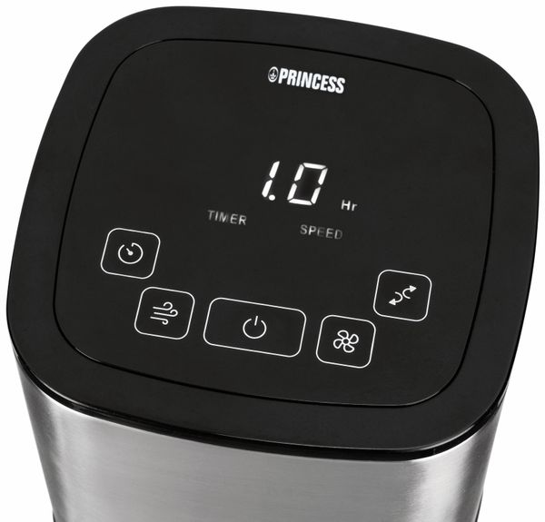 Turmventilator PRINCESS 350000, 50 W, App- und Sprachsteuerung - Produktbild 3