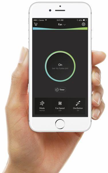 Turmventilator PRINCESS 350000, 50 W, App- und Sprachsteuerung - Produktbild 6