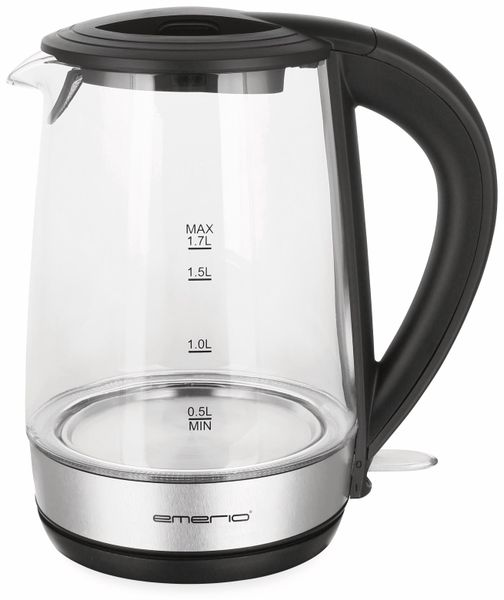 Wasserkocher EMERIO WK-123131,1,7 l, 2200 Watt