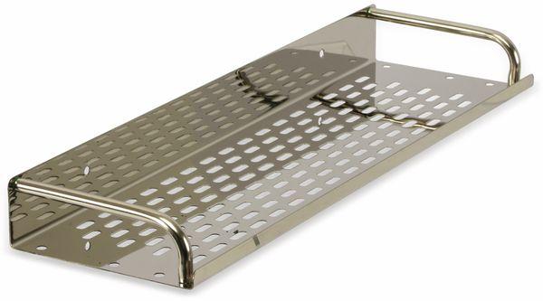 Edelstahl-Küchenregal, Gewürzboard
