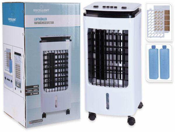 Luftkühler, 80 W, inkl. 2 Kühlakkus