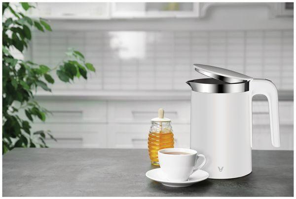 Wasserkocher Mi Viomi Smart Kettle, 1,5L, 1800W, weiß - Produktbild 3
