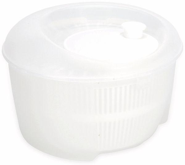 Salatschleuder, Ø 24 cm, 4,4 L, weiß