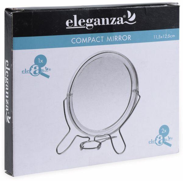 Kosmetik-Taschenspiegel, Ø 90 mm - Produktbild 2