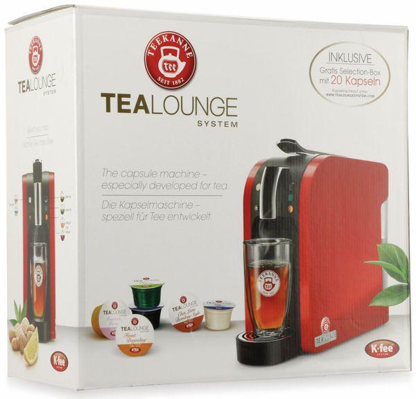 Teekapselmaschine TEEKANNE, Tealounge, 1 l, 1445 W, inkl. Selection Box, rot - Produktbild 9