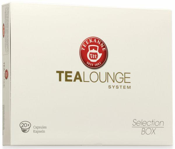 Teekapselmaschine TEEKANNE, Tealounge, 1 l, 1445 W, inkl. Selection Box, rot - Produktbild 12