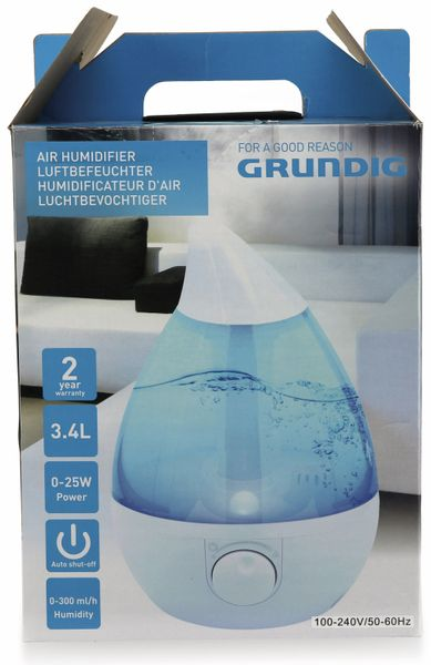 Luftbefeuchter GRUNDIG HD-1353, 3,4 L - Produktbild 2
