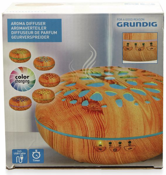 Diffusor GRUNDIG 14109, mit Farbwechsel und Timerfunktion - Produktbild 2