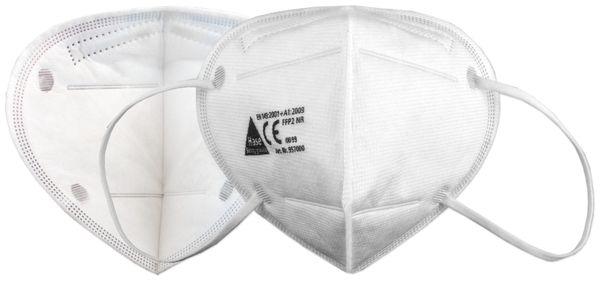 10er Set Atemschutzmasken FFP2 NR, HASE SAFTEY 957000