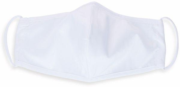 Mundschutzmaske, 2-lagig, waschbar, 5 Stück