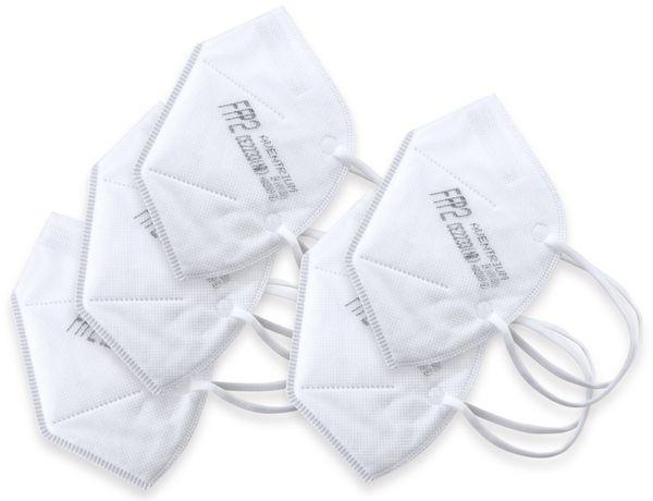 5er Set Atemschutzmasken FFP2 NR - Produktbild 2