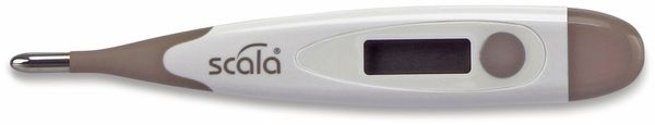 Fieberthermometer SCALA SC19 flex, grau
