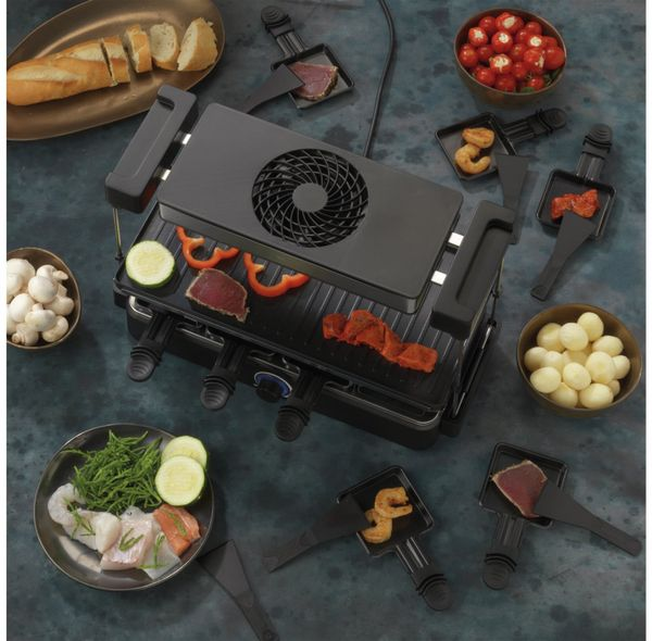 Gourmetgrill & Raclette TREBS 15110, 1200 W, 8 Personen - Produktbild 7