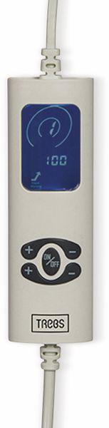 Elektrische Fleece-Decke TREBS 99342, 160 W, braun und beige - Produktbild 4