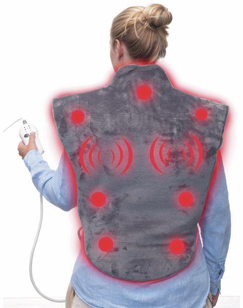 Wärme- und Massagekissen TREBS 99360, 100 W, grau - Produktbild 2