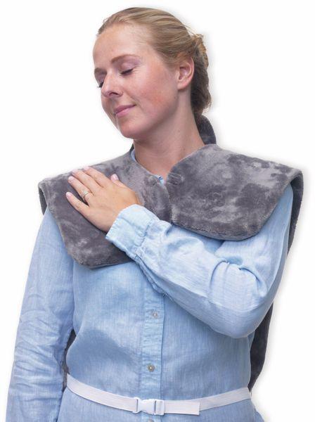 Wärme- und Massagekissen TREBS 99360, 100 W, grau - Produktbild 4