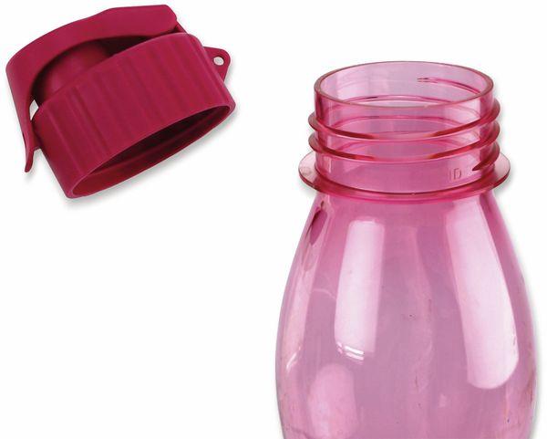 Trinkflasche CULINARIO FlipTop, 700 ml, rosa - Produktbild 3