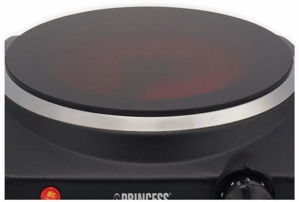 Kochplatte PRINCESS 303020, schwarz, 1200 W - Produktbild 3