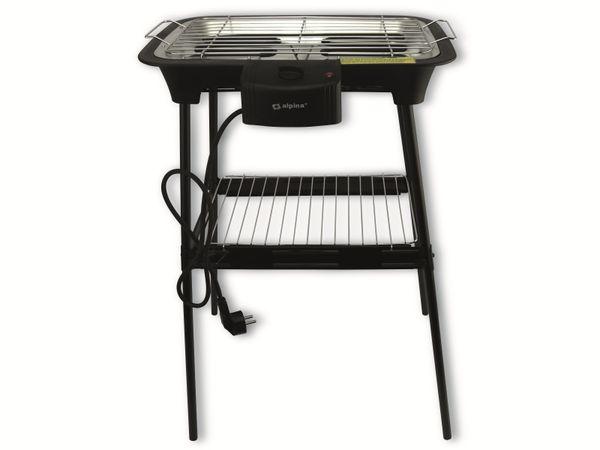 Elektro Tisch-/ Standgrill ALPINA, 2000 W - Produktbild 2