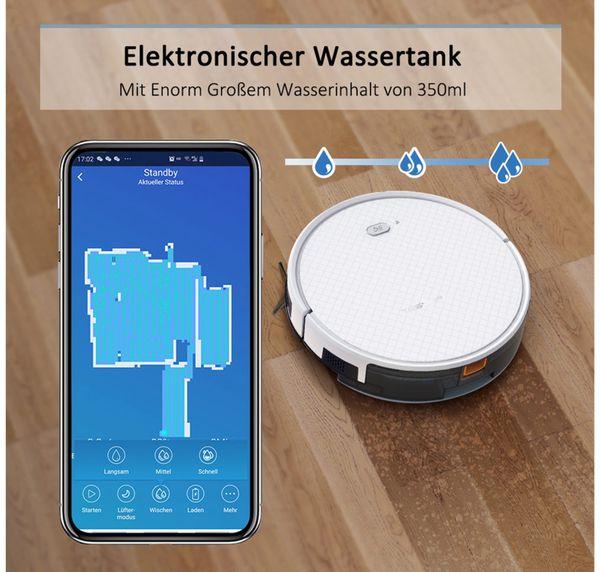 Staubsauger-Roboter TESVOR X500pro, weiß - Produktbild 2