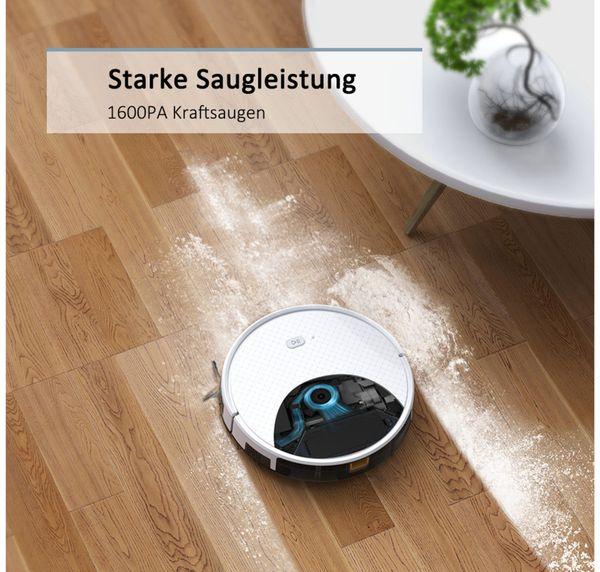 Staubsauger-Roboter TESVOR X500pro, weiß - Produktbild 4