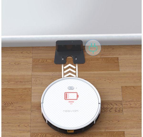 Staubsauger-Roboter TESVOR X500pro, weiß - Produktbild 7