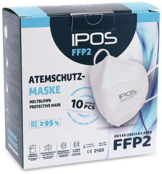 10er Set Atemschutzmasken FFP2 NR IPOS - Produktbild 5