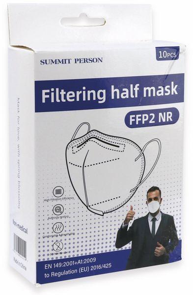 10er Set Atemschutzmasken FFP2 NR, grau - Produktbild 5