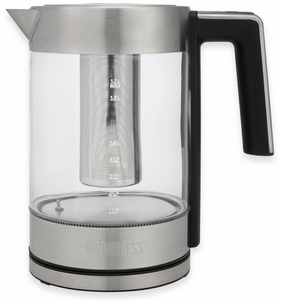 Wasserkocher PRINCESS Deluxe, 1,7 L, 2200 W