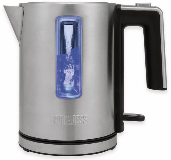 Wasserkocher PRINCESS 236045 Deluxe, 1 L, 2200 W, Edelstahl - Produktbild 4
