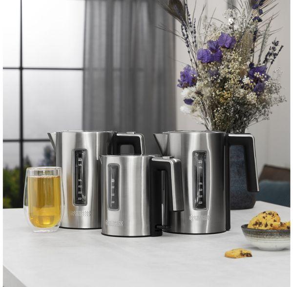 Wasserkocher PRINCESS 236045 Deluxe, 1 L, 2200 W, Edelstahl - Produktbild 8
