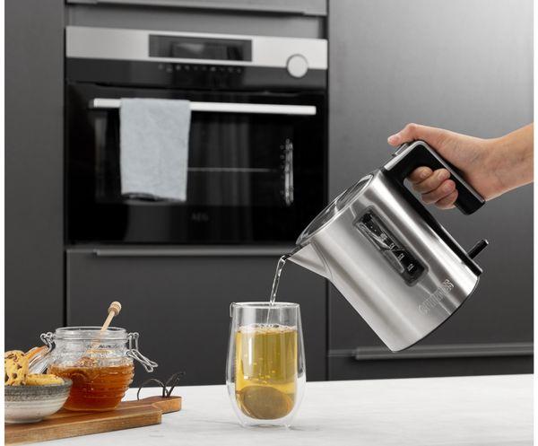 Wasserkocher PRINCESS 236045 Deluxe, 1 L, 2200 W, Edelstahl - Produktbild 9