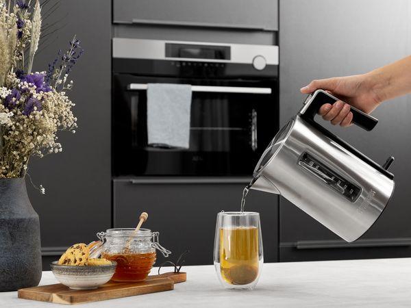 Wasserkocher PRINCESS 236046, 1,7 L, 3000 W, Edelstahl - Produktbild 3