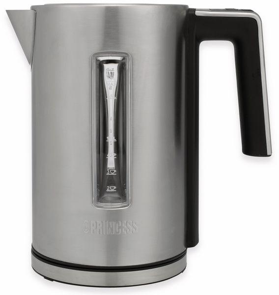 Wasserkocher PRINCESS 236047 Deluxe, 1,7 L, 3000 W, Edelstahl