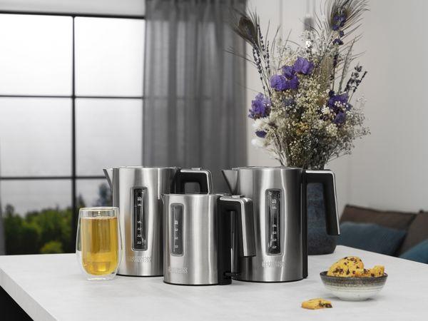 Wasserkocher PRINCESS 236047 Deluxe, 1,7 L, 3000 W, Edelstahl - Produktbild 2