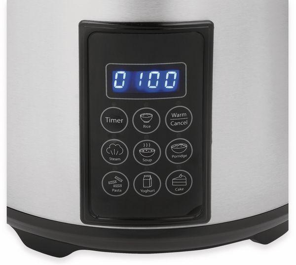 Reiskocher TRISTAR RK-6138, 2,2 L, 900 W, Edelstahl - Produktbild 4