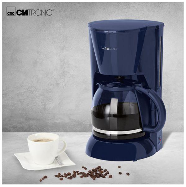 Kaffeemaschine CLATRONIC KA 3473, 1,5 L, 900 W, blau - Produktbild 4