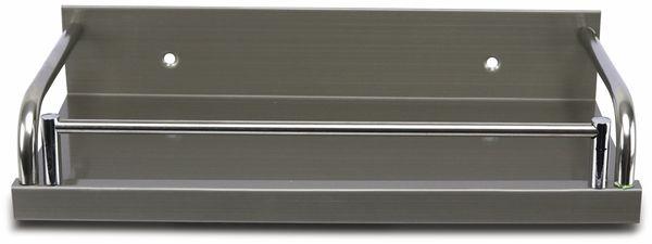 Edelstahl-Küchenregal, Gewürzboard - Produktbild 2