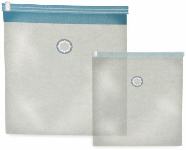 Vakuum-Aufbewahrungsbeutel, 2 Stück - Produktbild 2