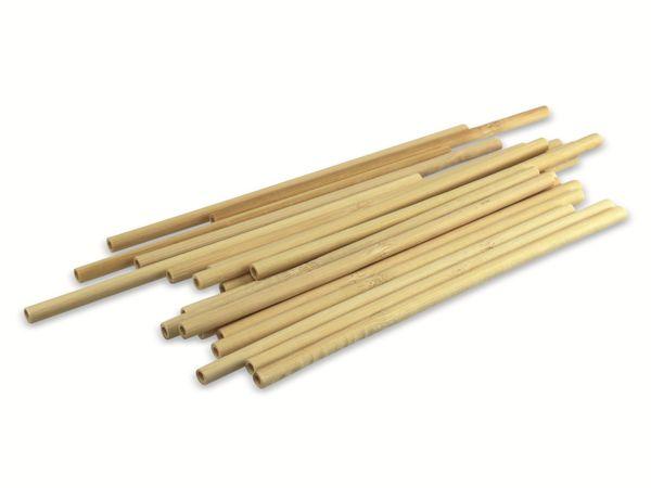 Bambus Trinkhalme, 200 mm, 20 Stück