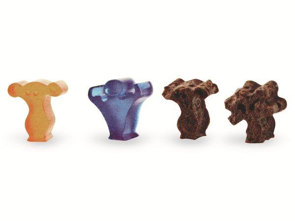 "Eiswürfelbereiter und Backform, Silikon ""Party People"" - Produktbild 3"