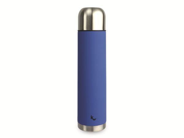 Thermosflasche, Alaska, 1 l, Edelstahl, blau