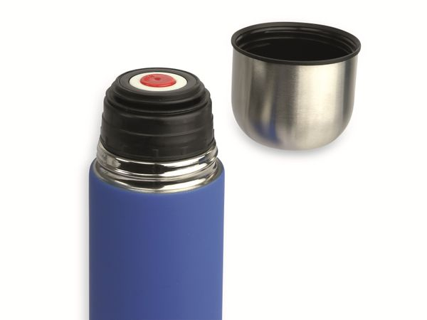 Thermosflasche, Alaska, 1 l, Edelstahl, blau - Produktbild 2