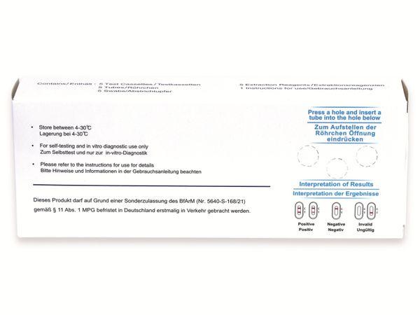 5er-Set Schnelltest CLUNGENE COVID-19 Antigen Rapid Test - Produktbild 3
