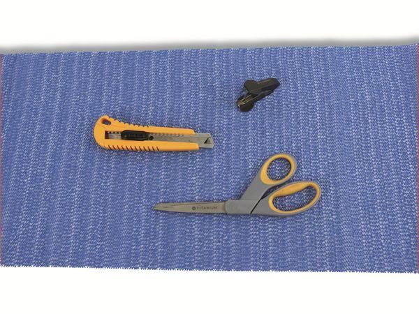 Antirutschmatte, 30x150 cm, blau