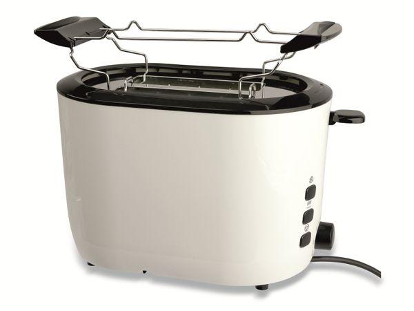 Doppelschlitz, Toaster, GT-JTds-01, 840W, weiß - Produktbild 2