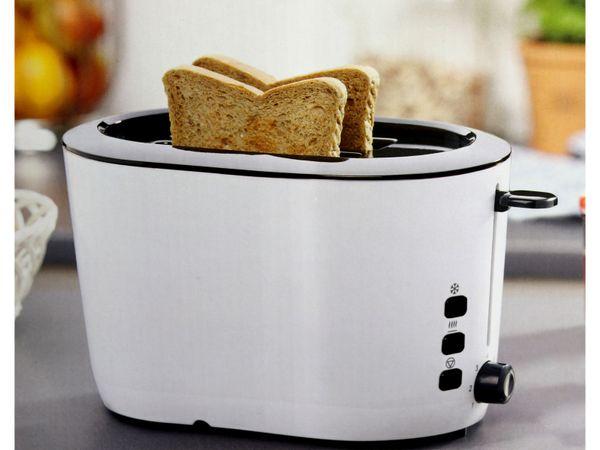 Doppelschlitz, Toaster, GT-JTds-01, 840W, weiß - Produktbild 3
