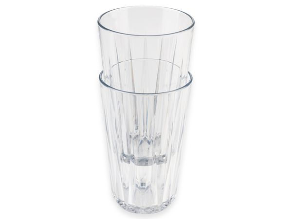 Trinkbecher-Set APS Crystal, Ø: 8 cm, H: 12,5 cm, 6 Stück - Produktbild 3