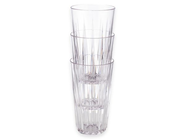 Trinkbecher-Set APS Crystal, Ø: 9 cm, H: 15,5 cm, 6 Stück - Produktbild 3